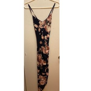 Windsor Floral A-Symmetrical dress size small